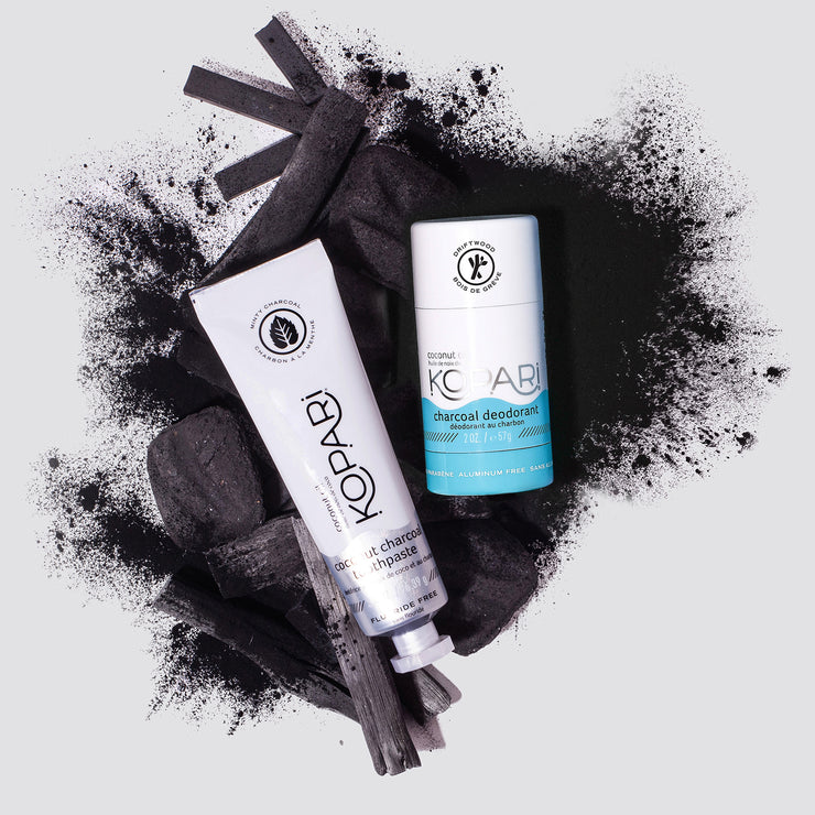 Coconut Charcoal Duo