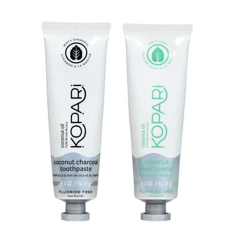 Coconut Toothpaste Duo