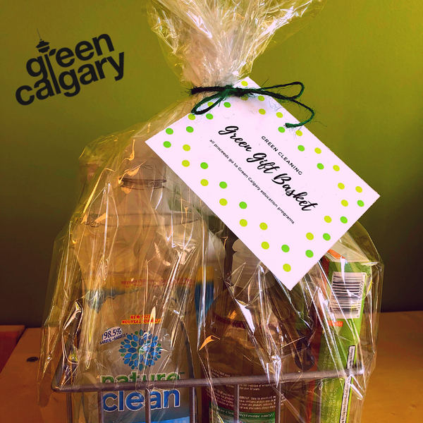 Green Cleaning Gift Basket