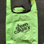 Green Calgary reusable bag