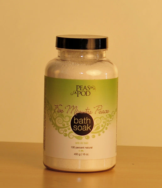 Five Minutes Peace - Bath Soak - by All Things Jill
