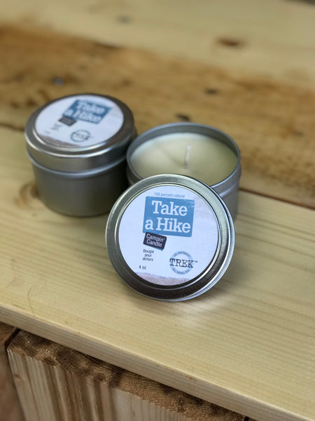 Take a Hike Camping Candle - by All Things Jill