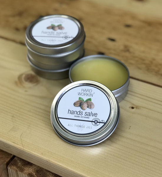 Hard Workin' Hands Salve - by All Things Jill