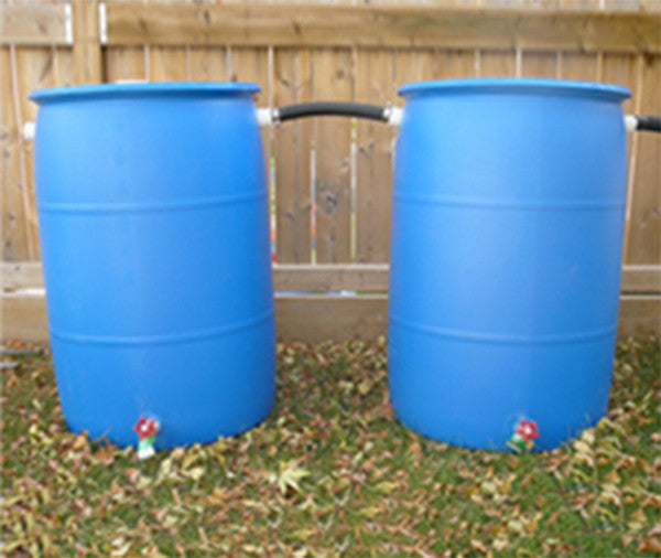Rain Barrel with Hose Kit