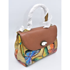 Anuschka hand painted leather bag 手绘牛皮包