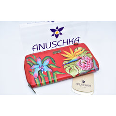 Anuschka hand painted leather wallet-手绘牛皮包钱包1144ISE