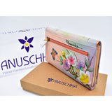 Anuschka hand painted leather wallet-手绘牛皮钱包(sold out)