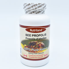 Bee Propolis 100 capsules (100% concentrated)/ 高纯度 100% 浓缩蜂胶 100粒
