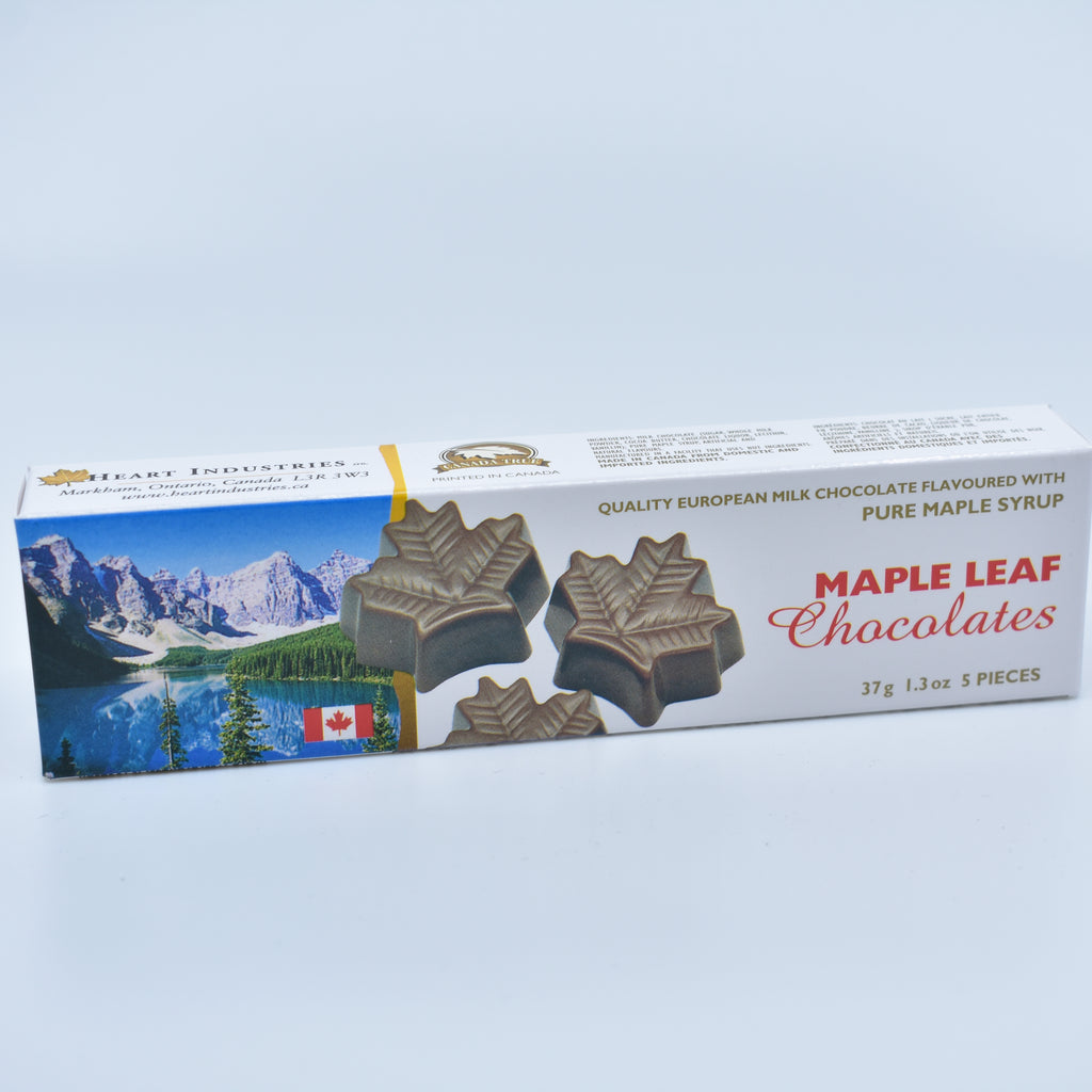 Maple leaf chocolate 枫叶巧克力