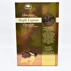 Maple liqueur chocolate 120g 枫叶酒心巧克力120g