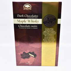 Maple whisky chocolate 120g 枫糖威士忌巧克力120g