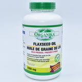 Organika flaxseed oil 亚麻籽油胶囊