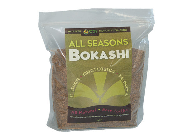 SCD Bokashi - 1 kg - All Natural Deodorizer for Garbage and Compost