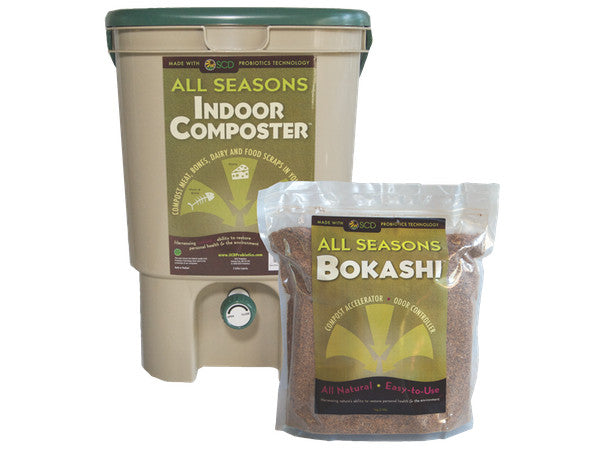 SCD All Season Indoor Composting COMBO Kit