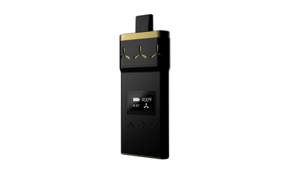 AirVape X SE | Black & Gold + Free Rocket Grinder - Apollo AirVape