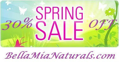 30% Off Sale for Spring!!