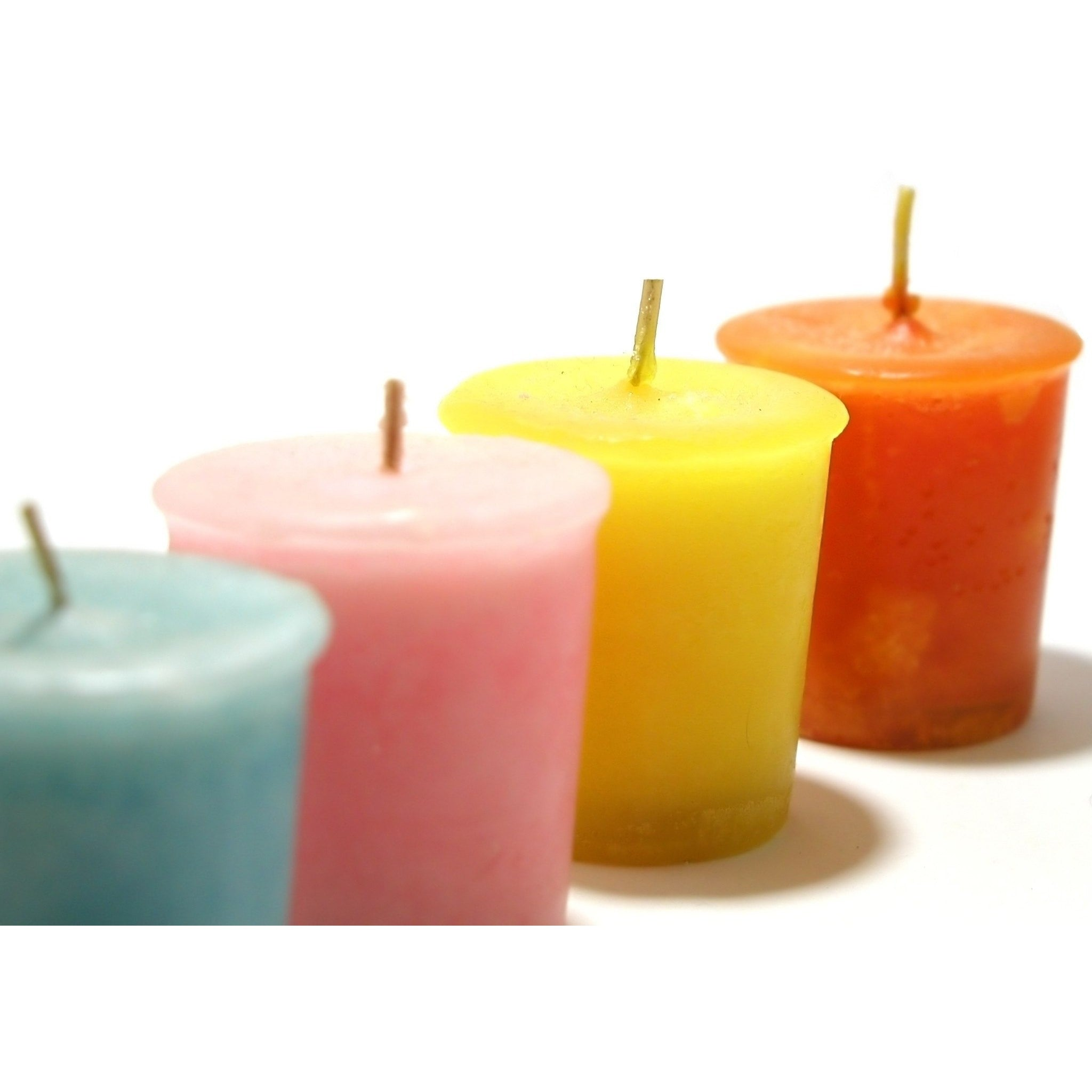 Clean Cotton-Sky Natural Hand Poured Soy Candles - Votive-Single - Bella-Mia Naturals All Natural Soy Candles & Lip Balms - 10
