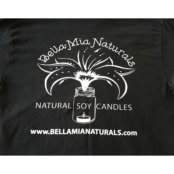 Bella-Mia Naturals Logo T-Shirt -  - Bella-Mia Naturals All Natural Soy Candles & Lip Balms - 2