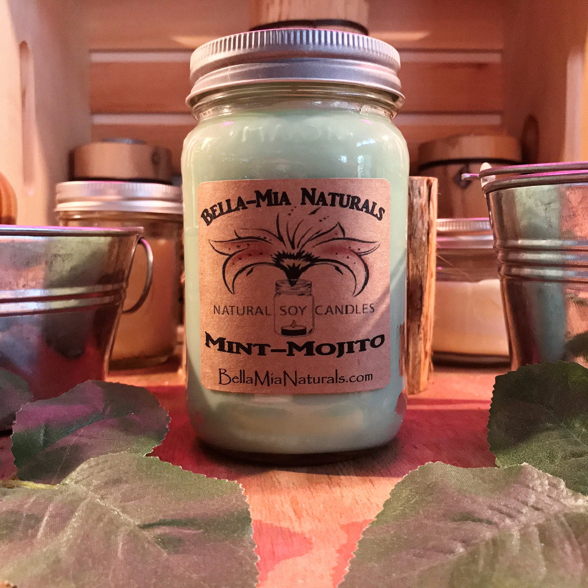Mint Mojito Natural Hand Poured Soy Candles