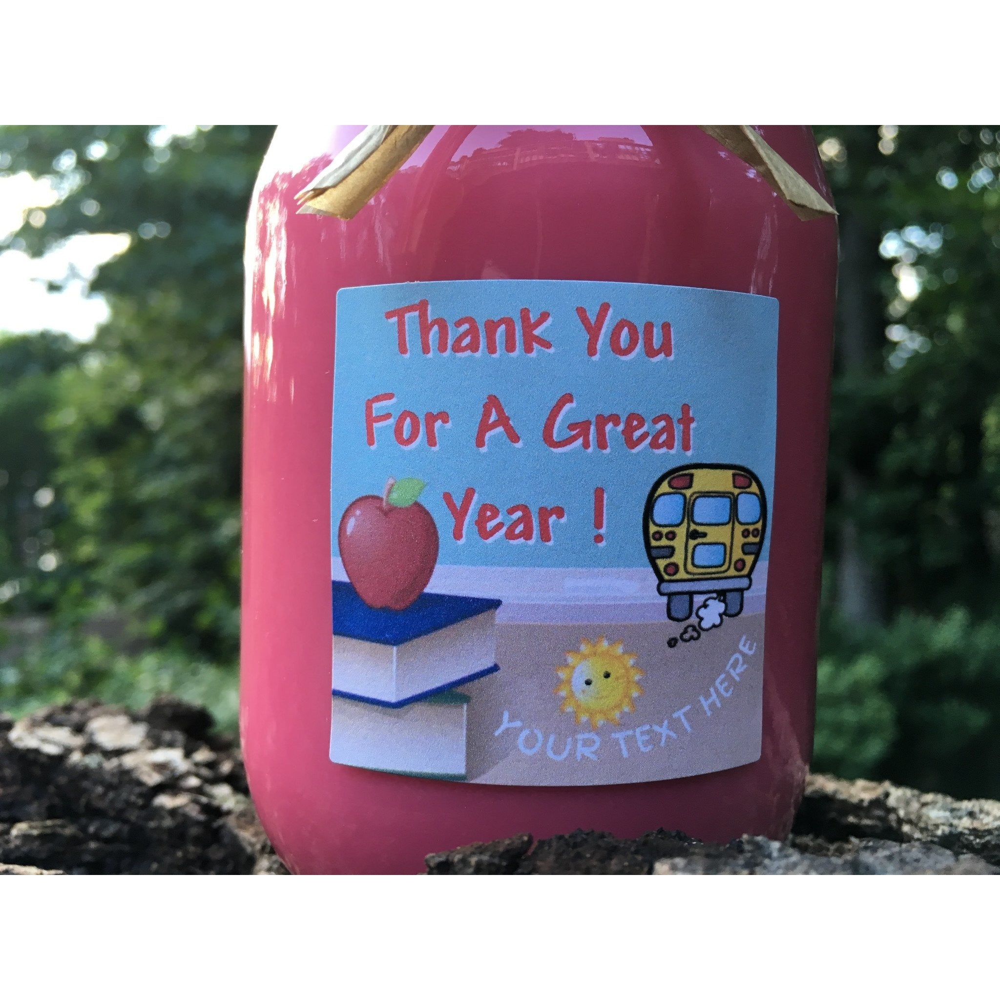 End Of School Thank You Teachers Natural Hand Poured Soy Candles & Melts -  - Bella-Mia Naturals All Natural Soy Candles & Lip Balms - 2