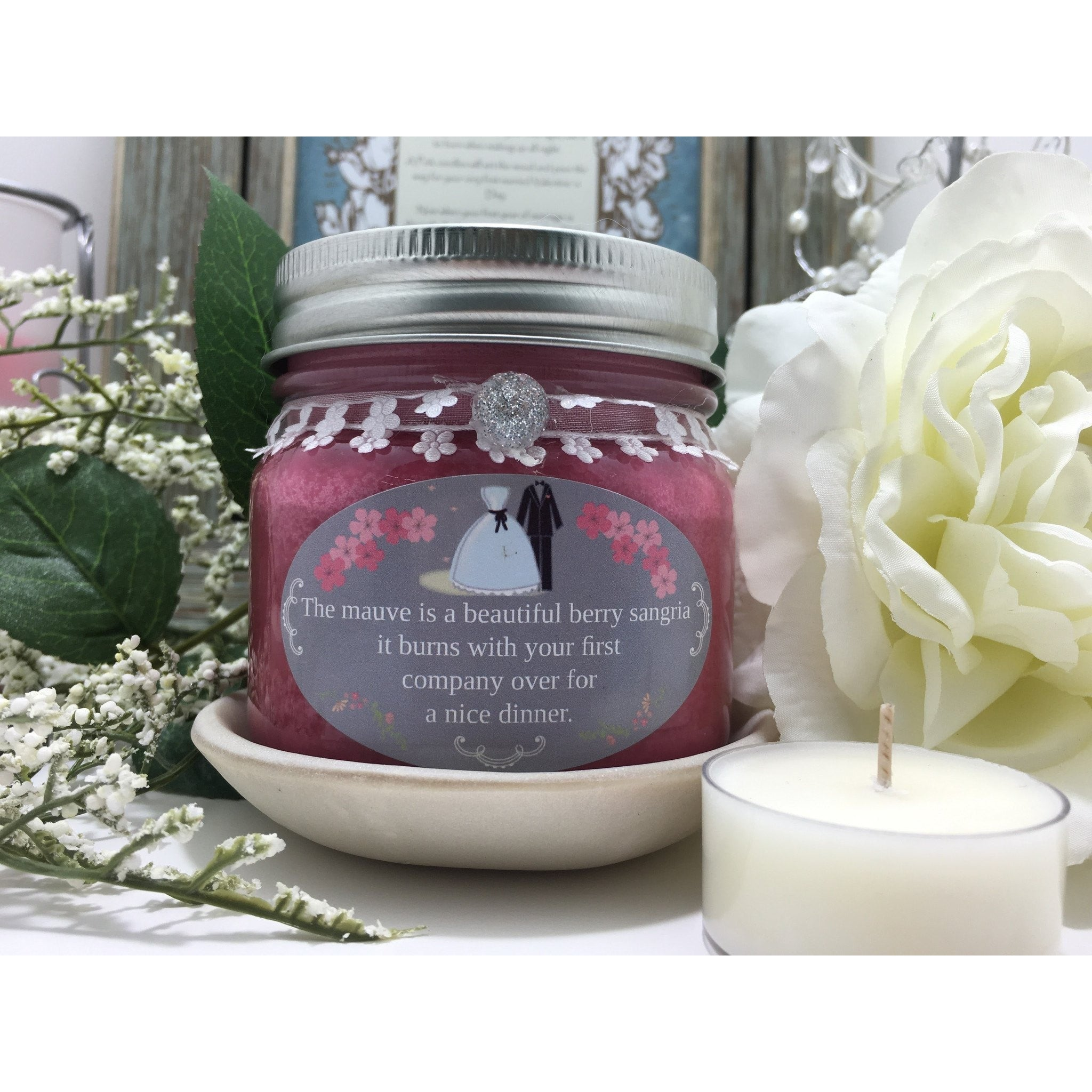 Wedding & Shower Party Natural Hand Poured Soy Candles & Melts -  - Bella-Mia Naturals All Natural Soy Candles & Lip Balms - 16