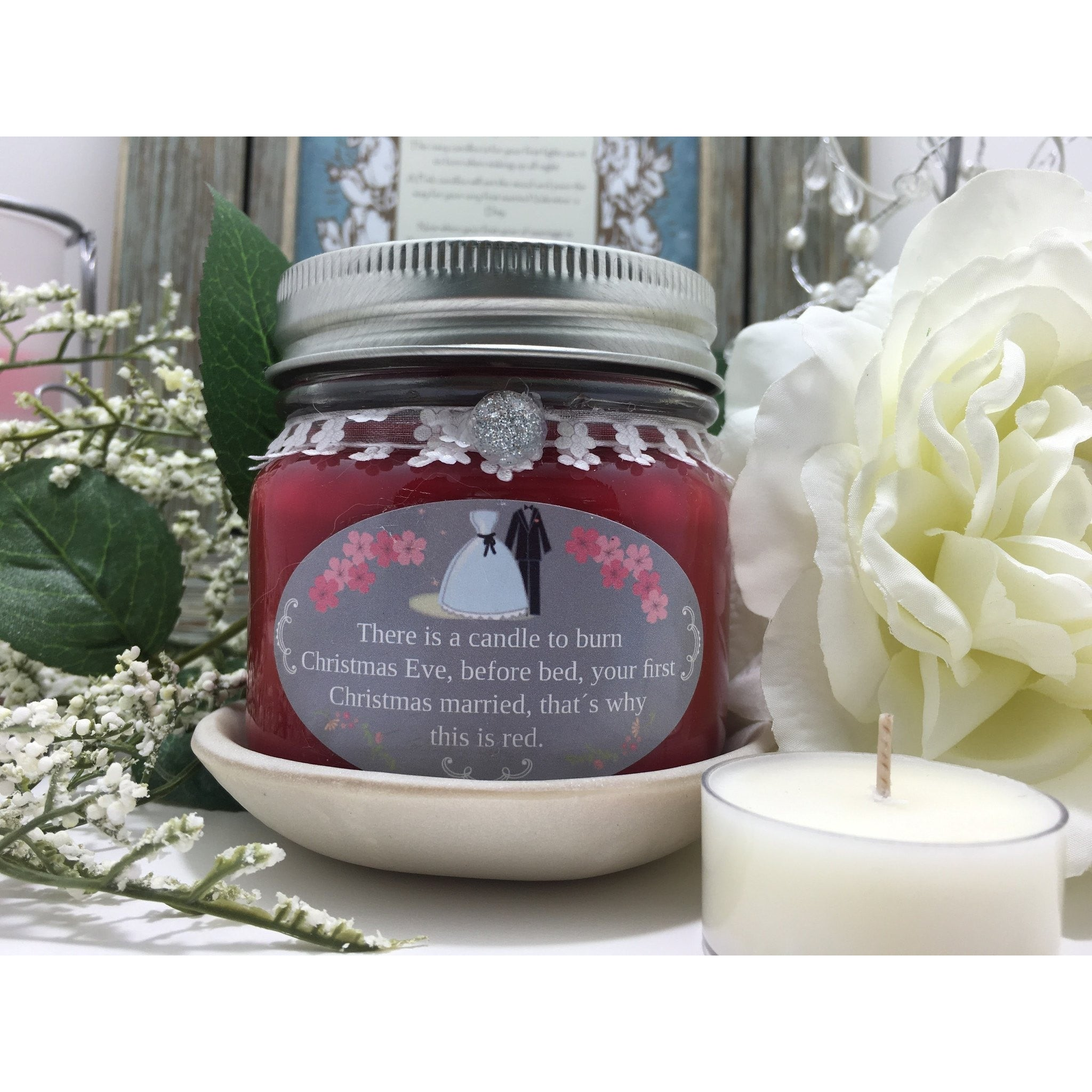 Wedding & Shower Party Natural Hand Poured Soy Candles & Melts -  - Bella-Mia Naturals All Natural Soy Candles & Lip Balms - 17