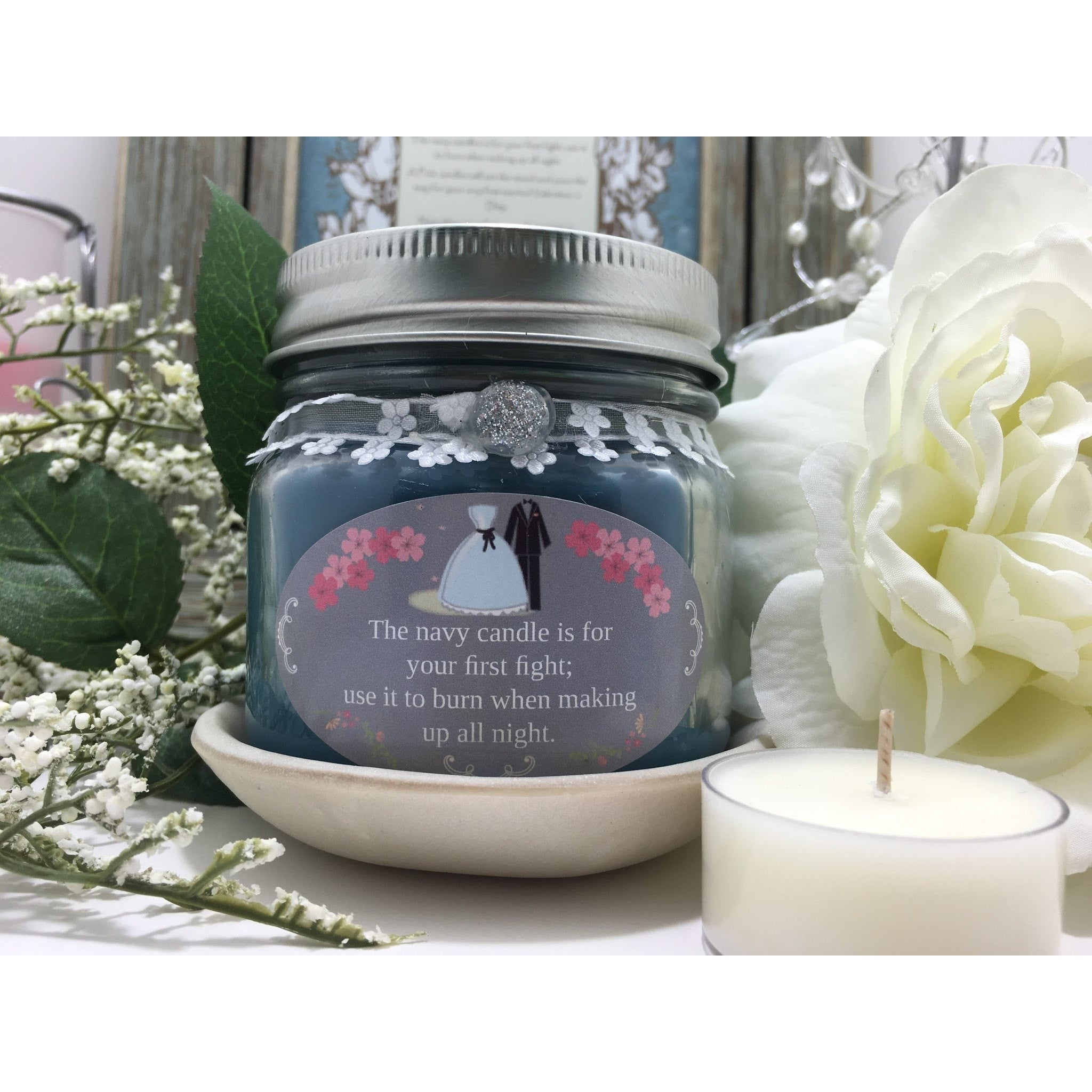Wedding & Shower Party Natural Hand Poured Soy Candles & Melts -  - Bella-Mia Naturals All Natural Soy Candles & Lip Balms - 18