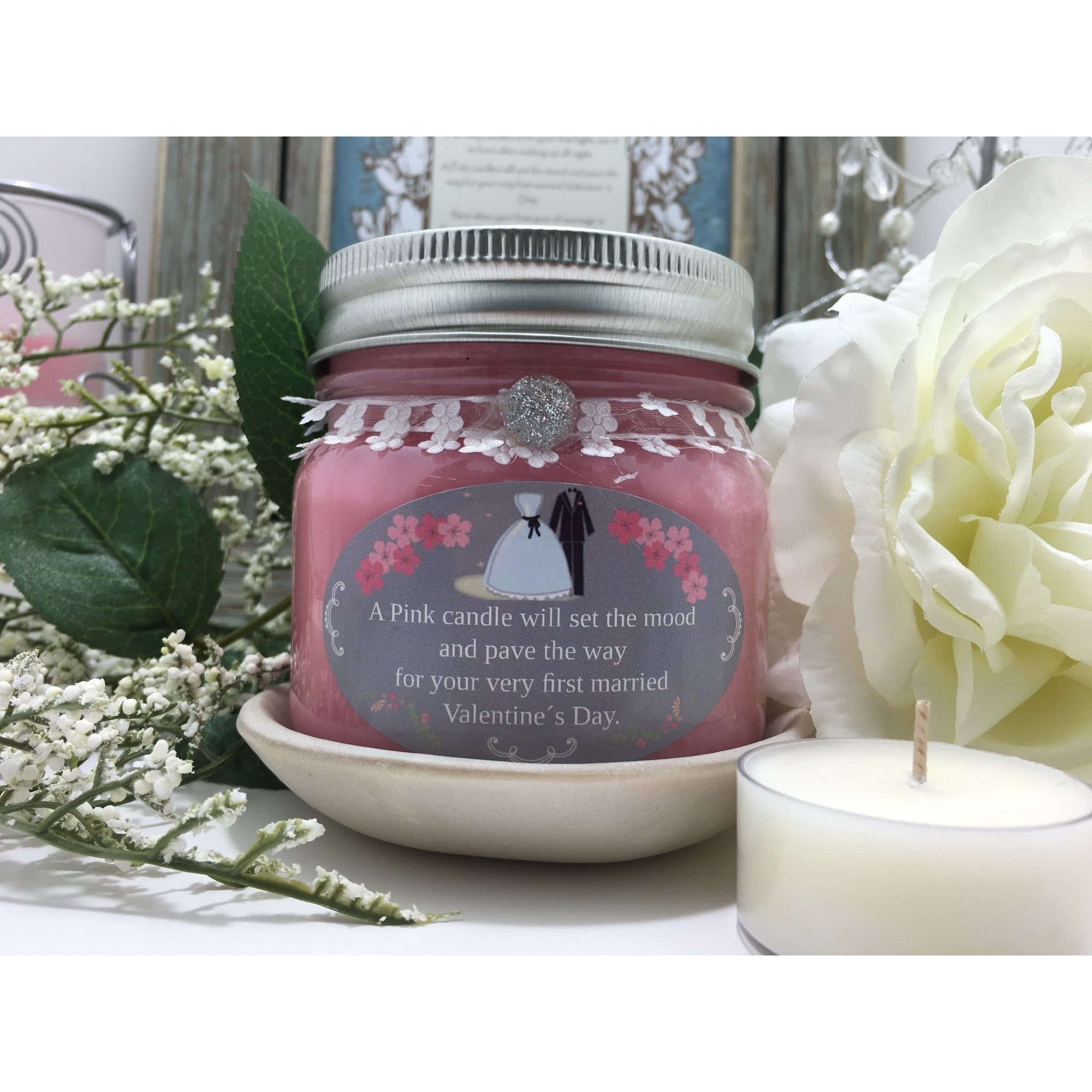 Wedding & Shower Party Natural Hand Poured Soy Candles & Melts -  - Bella-Mia Naturals All Natural Soy Candles & Lip Balms - 19