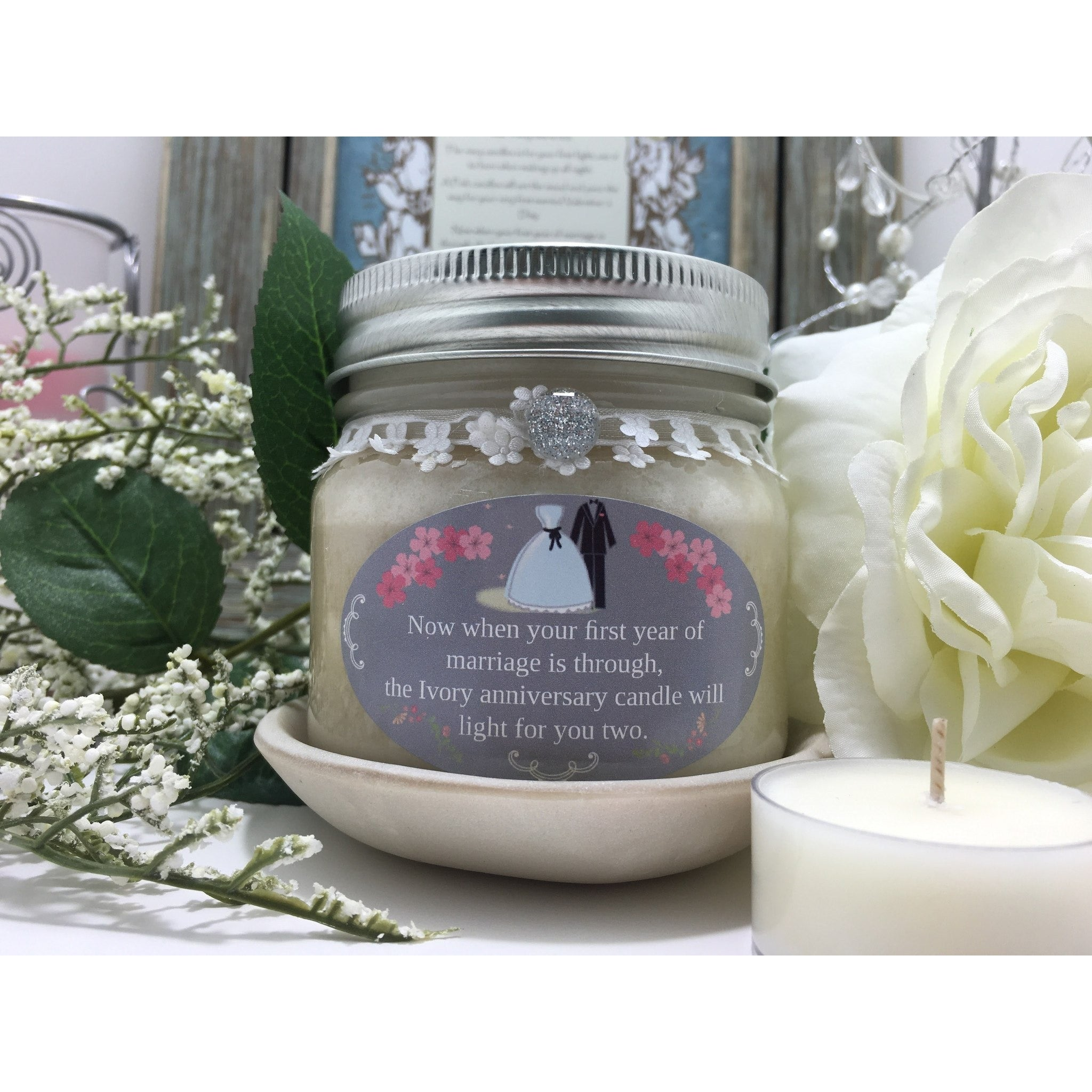 Wedding & Shower Party Natural Hand Poured Soy Candles & Melts -  - Bella-Mia Naturals All Natural Soy Candles & Lip Balms - 20