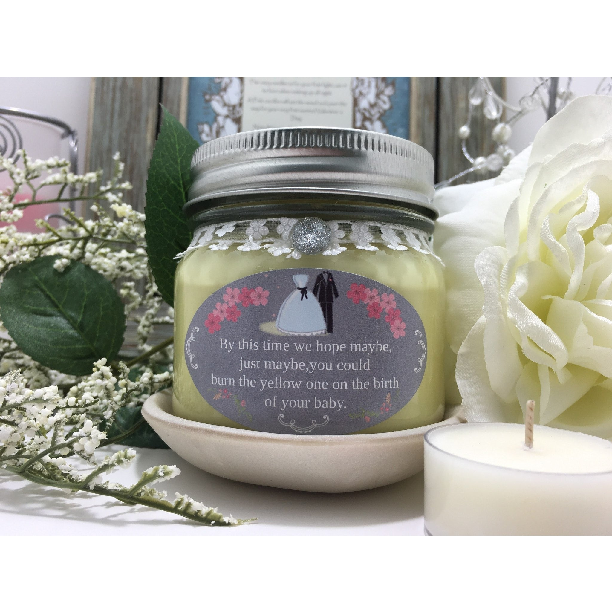 Wedding & Shower Party Natural Hand Poured Soy Candles & Melts -  - Bella-Mia Naturals All Natural Soy Candles & Lip Balms - 21