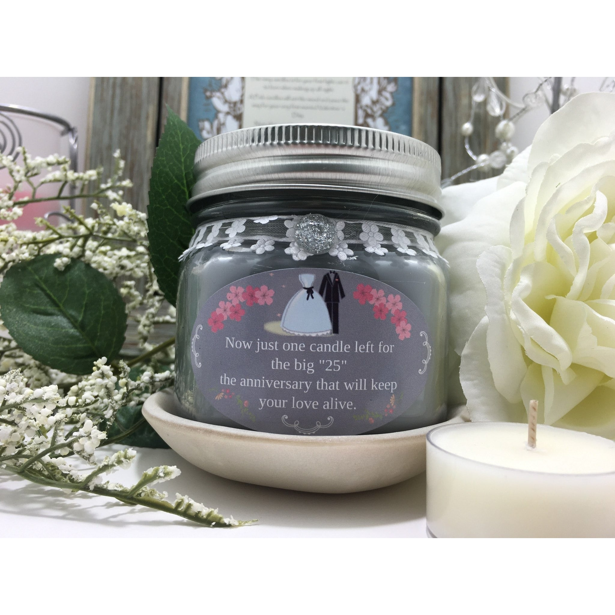 Wedding & Shower Party Natural Hand Poured Soy Candles & Melts -  - Bella-Mia Naturals All Natural Soy Candles & Lip Balms - 23