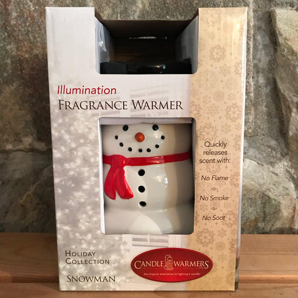 Snowman Accent Plug-In Ceramic Electric Wax Fragrance Warmer by Candle Warmers