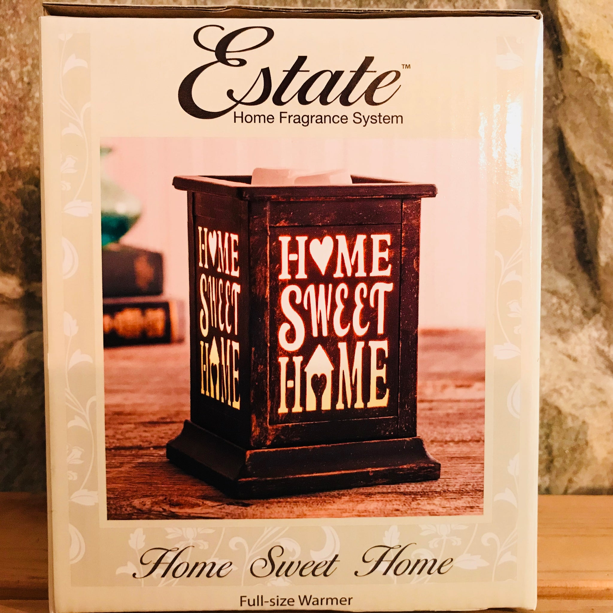 Home Sweet Home Electric Wax Warmer by Estate