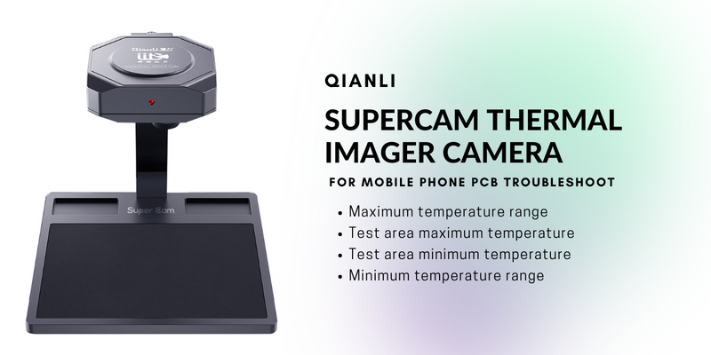 QIANLI SUPERCAM THERMAL IMAGER CAMERA FOR MOBILE PHONE PCB