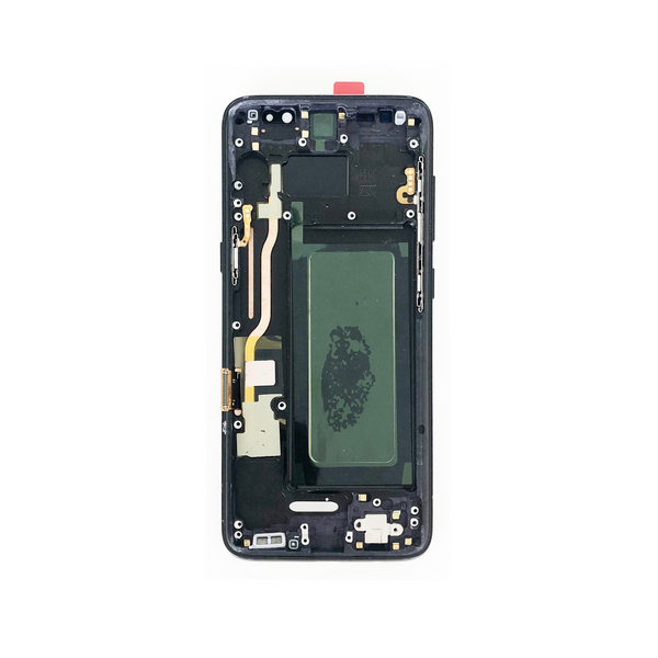 LCD and Digitizer Touch Screen Assembly with Frame for Samsung Galaxy S8 G950 [Premium / Black]