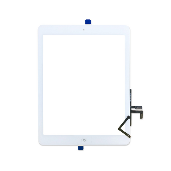 Digitizer Touch Screen with Home Button for iPad Air [Standard Plus / White]