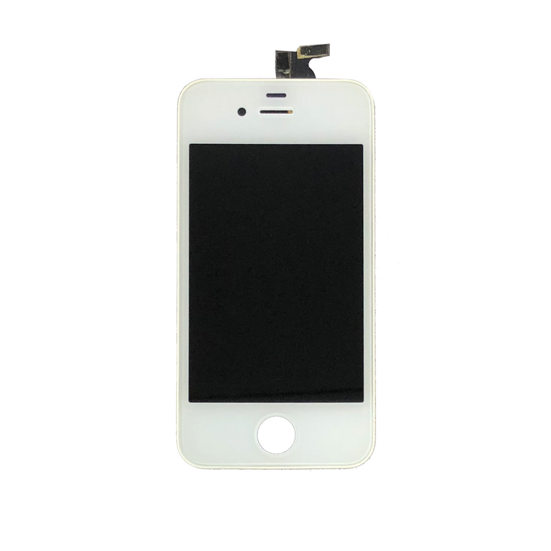 LCD and Digitizer Touch Screen Assembly for iPhone 4G [Premium / White]