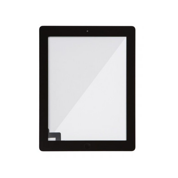 Digitizer Touch Screen with Adhesive Tape and Home Button for iPad 2 [Choice / Black]