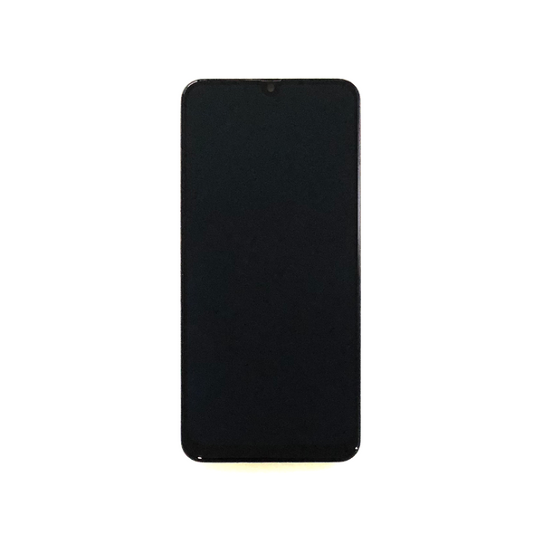 LCD and Digitizer Touch Screen Assembly with Frame for Samsung Galaxy A50 A505 [Premium / Black]