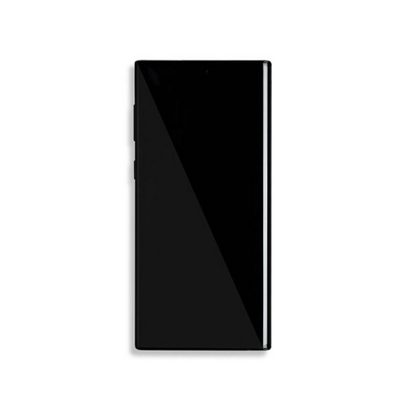 LCD and Digitizer Touch Screen Assembly with Frame for Samsung Galaxy Note 10 N970 [Original / Black]