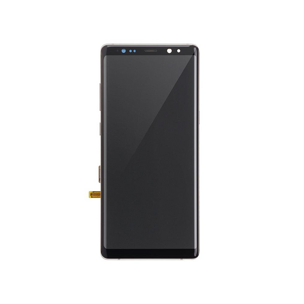 LCD and Digitizer Touch Screen Assembly with Frame for Samsung Galaxy Note 8 N950 [Premium / Gold]