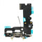 "Charging Port Flex Cable for iPhone 7 4.7"" [Standard Plus / Black]"