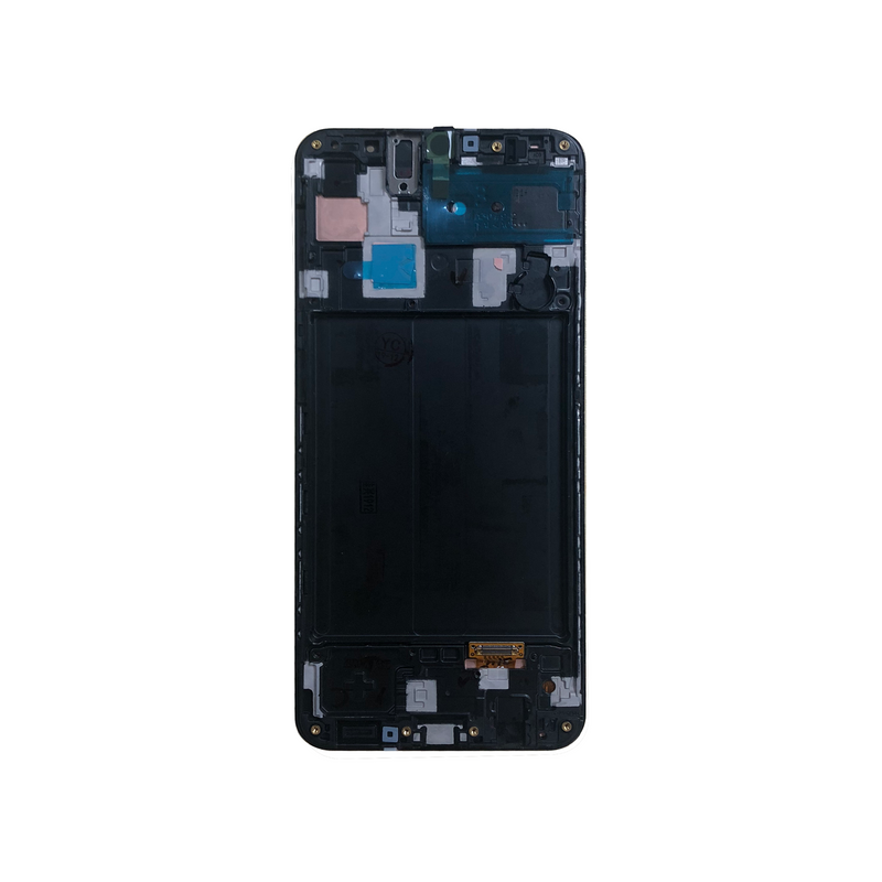 LCD and Digitizer Touch Screen Assembly with Frame for Samsung Galaxy A30 A305 [Original / Black]