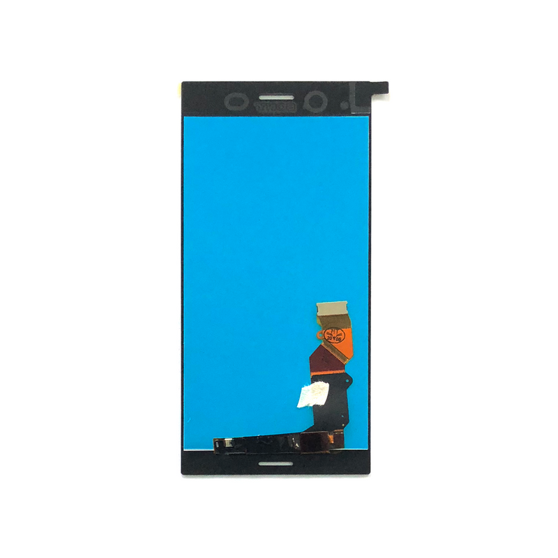 LCD and Digitizer Touch Screen Assembly for Sony Xperia XZ Premium [Original / Silver]