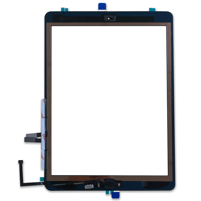 Digitizer Touch Screen With Home Button for iPad 9.7 (2018) [Choice / Black]