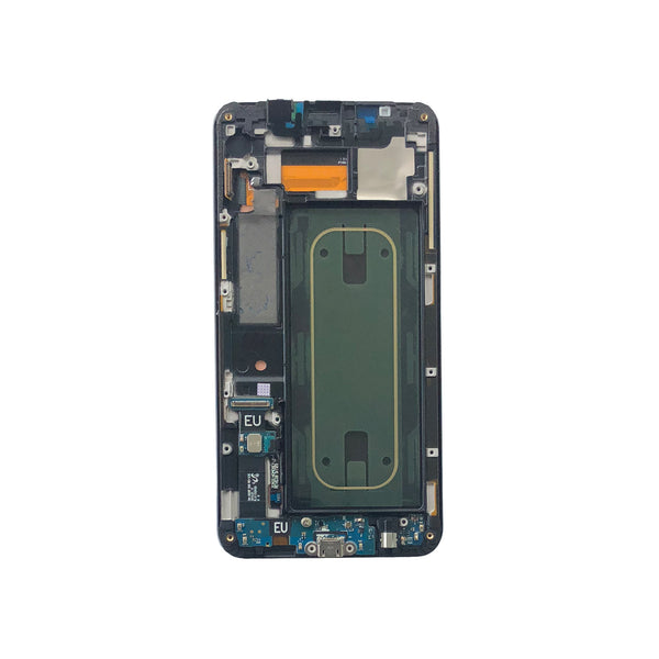 LCD and Digitizer Touch Screen Assembly with Frame for Samsung Galaxy S6 Edge+ G928 [Original / Black]