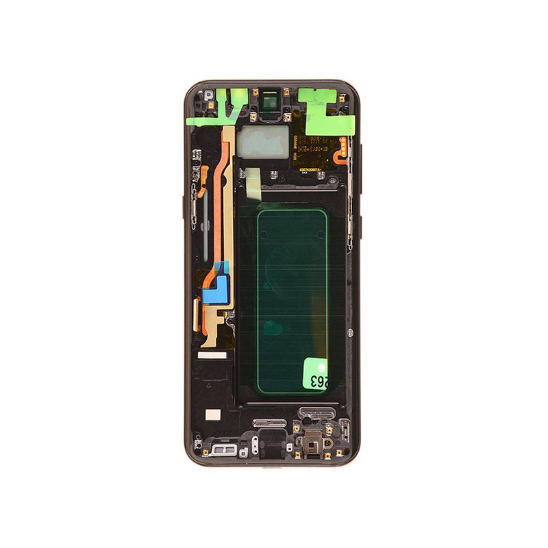 LCD and Digitizer Touch Screen Assembly with Frame for Samsung Galaxy S8 Plus G955 [Premium / Black]
