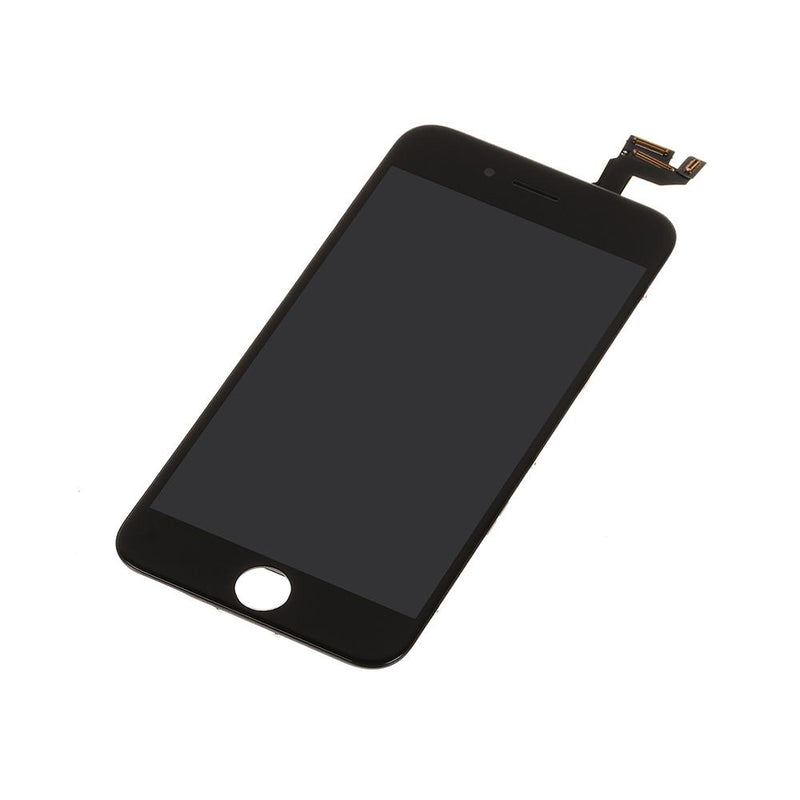 LCD and Digitizer Touch Screen Assembly with Small Parts for iPhone 6S [Standard Plus / Black]