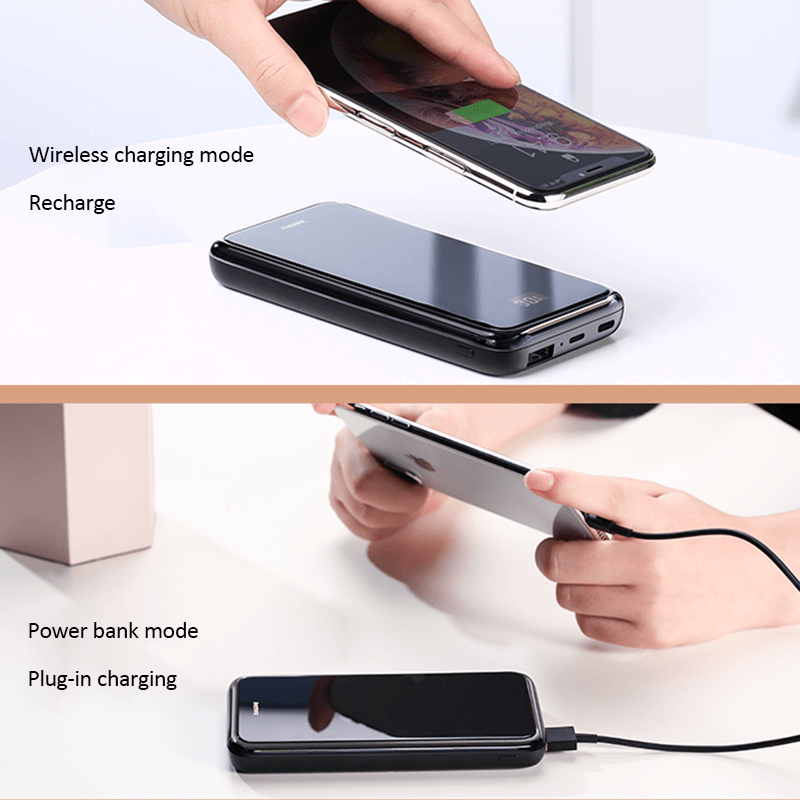 Remax RPP-133 10000 mAh Wireless Charger PowerBank