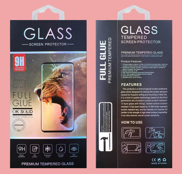 Full Glue Tempered Glass Screen Protector for Samsung Galaxy Note 10+ [Black]